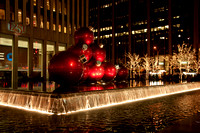 Holiday Ornamets on Sixth Avenue
